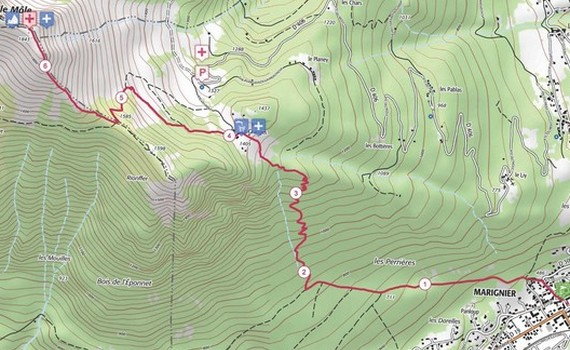 Nouveau parcours: L'ultra Verticale du Môle
